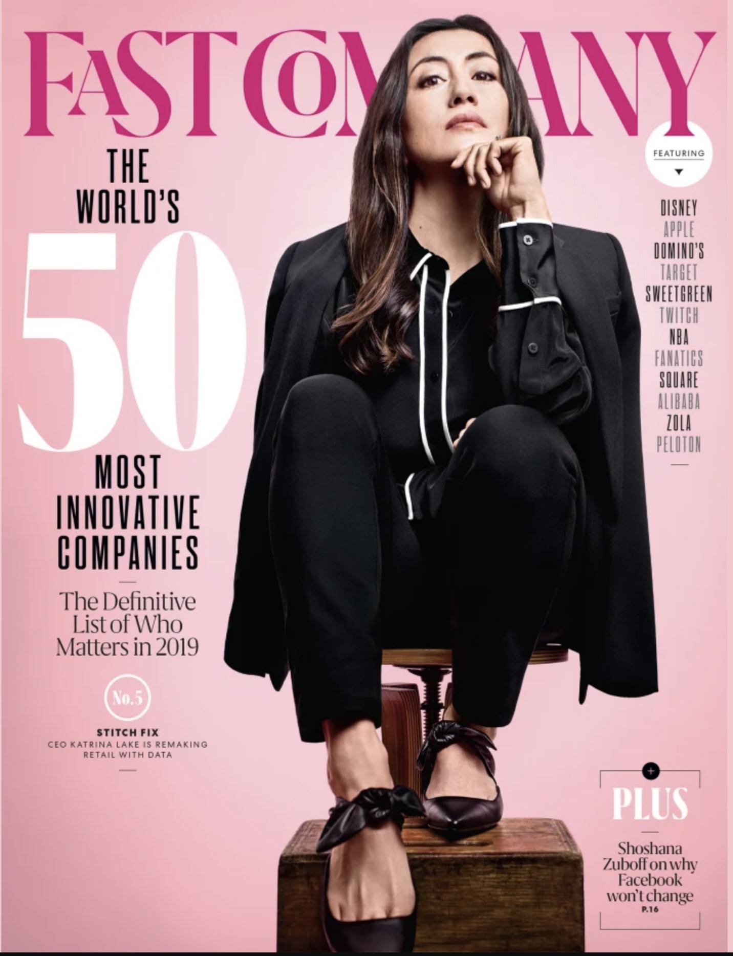 Fast company 2019 magazine cover