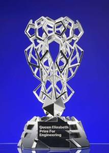 Queen Elizabeth prize for Engineering Trophy